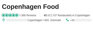 Copenhagen Food Tripadvisor Reviews