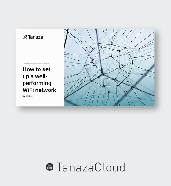 Tanaza webinar request the video