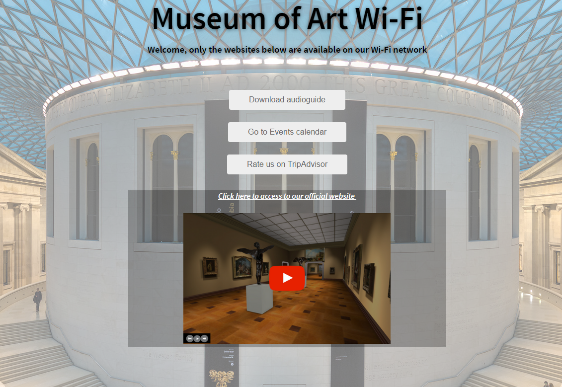 Museum of Art Wi-Fi