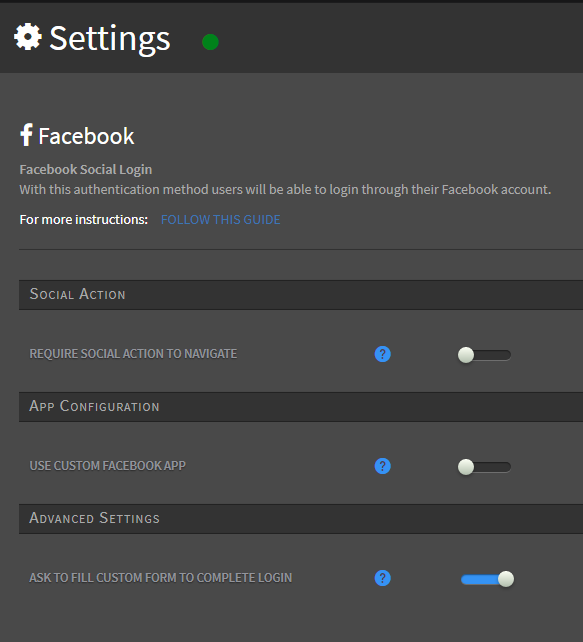 Collect more WiFi user data through social login and custom forms