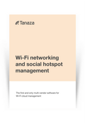 WiFi Networking and Social Hotspot Management