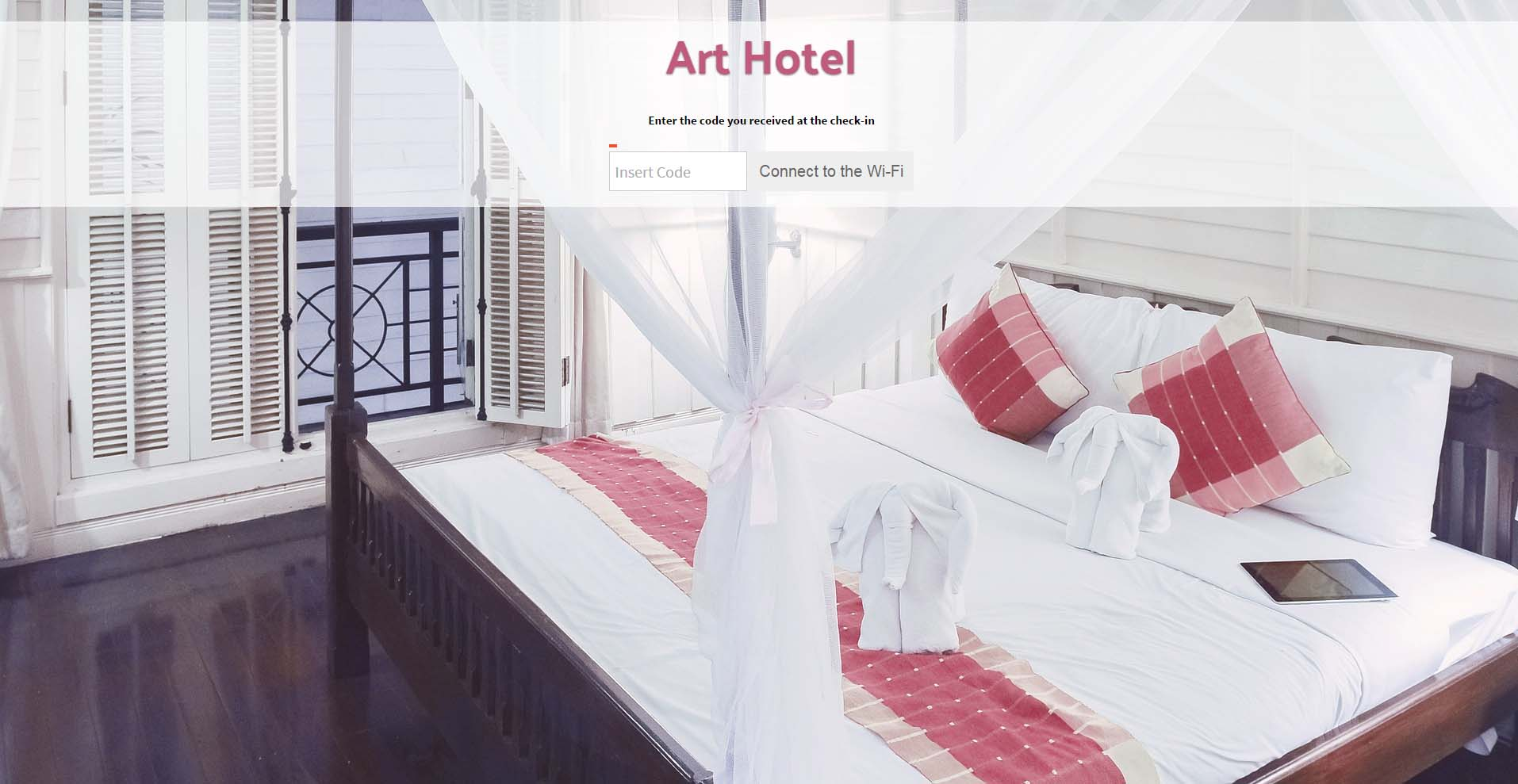 WiFi for Art Hotel