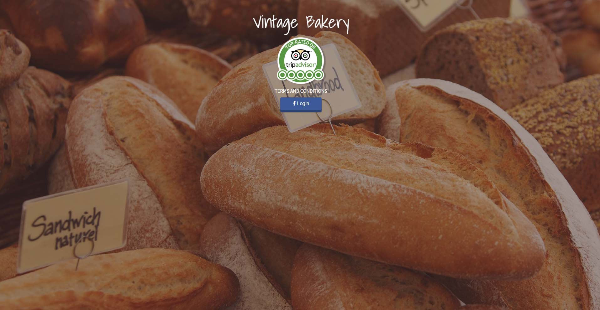 WiFi for Vintage Bakery