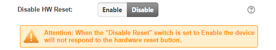 disable reset button wifi