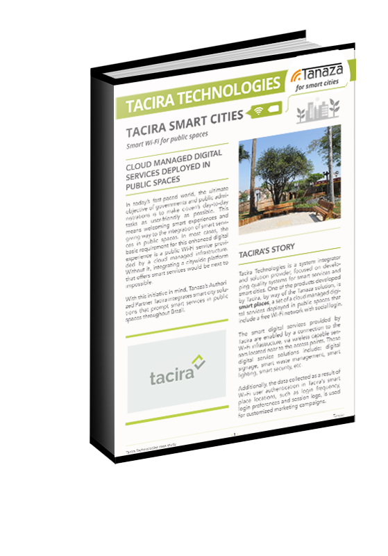 Tacira Smart Cities WiFi | Tanaza Success Story