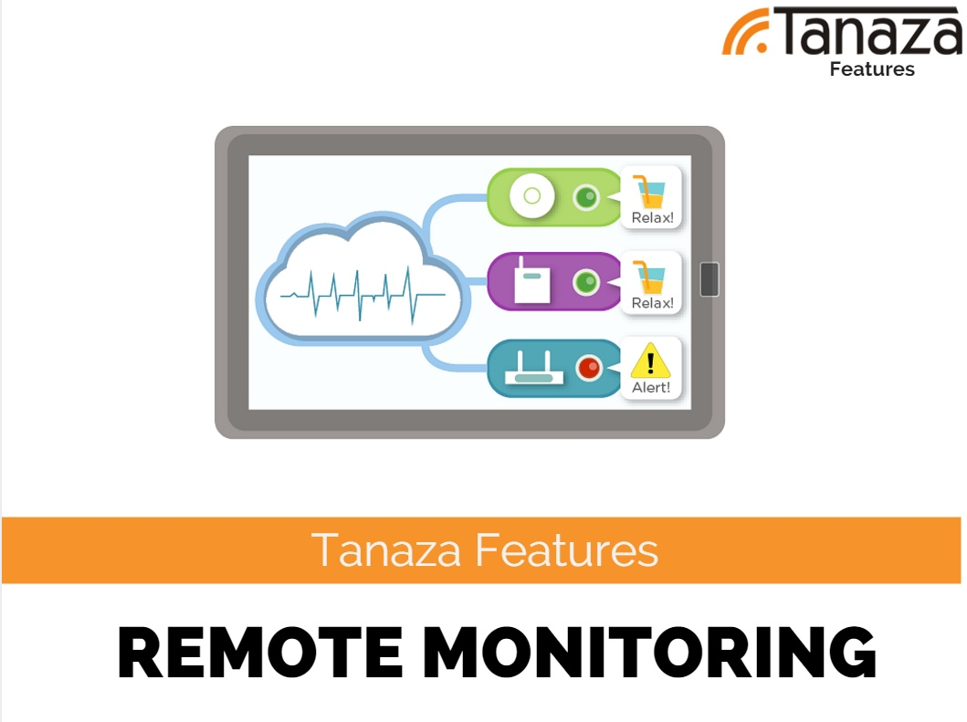 Screenshots remote monitoring of WiFi access points