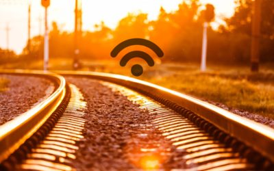 Google provides a free Wi-Fi connection to India's railway stations