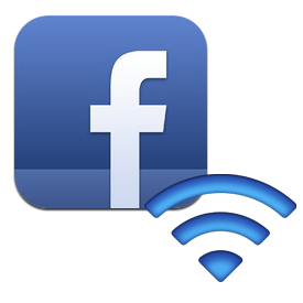 facebook check in wifi