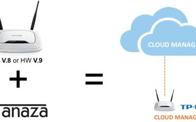 Cloud manage TP-Link WR841N