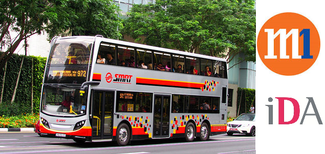 Commuters on SMRT buses can now surf the Web with Wi-Fi On-the-go, thanks to M1 and the Infocomm Development Authority (IDA), two companies working in Singapore's Telecom sector. - SMRT buses provide now Wi-Fi On-The-Go to commuters in Singapore.
