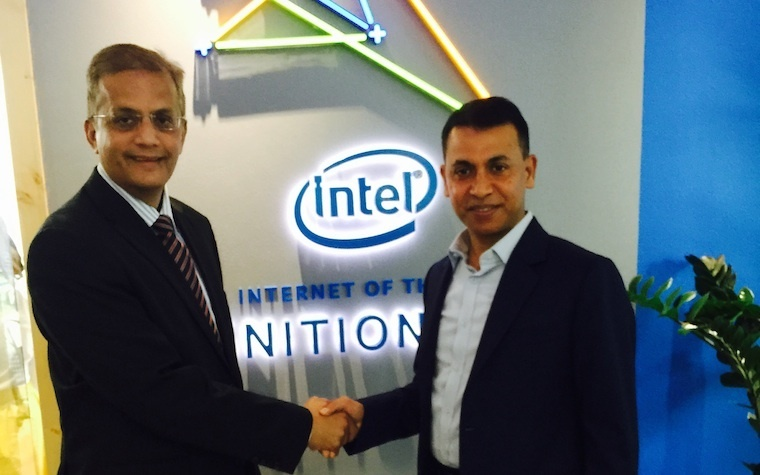 Linksys commits to supporting the development of Intel's IoT lab built in collaboration with Dubai Silicon Oasis Authority (DSOA) by providing their networking solutions for SMBs - Partnership between Intel and Linksys