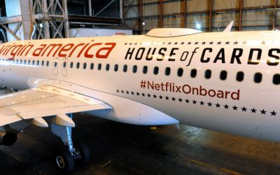 Virgin America upgrades its in-flight WiFi and partners with Netflix