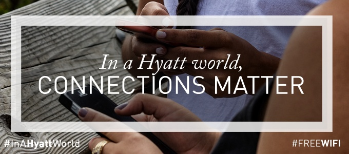 wifi-hyatt-connections-matter0The hospitality industry is not answering quickly to consumer demand. Free, ubiquitous, one-click and unlimited Wi-Fi in hotel is still a dream