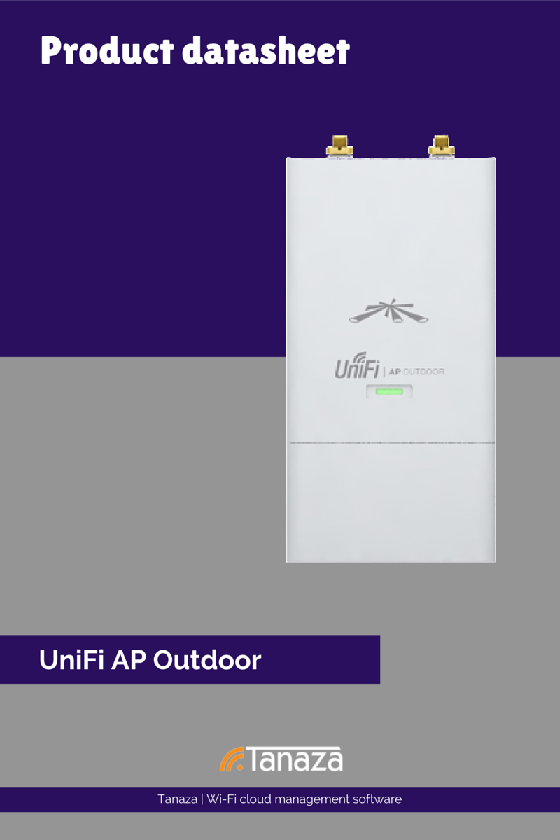 UniFi AP outdoor Ubiquiti Networks cloud management Tanaza