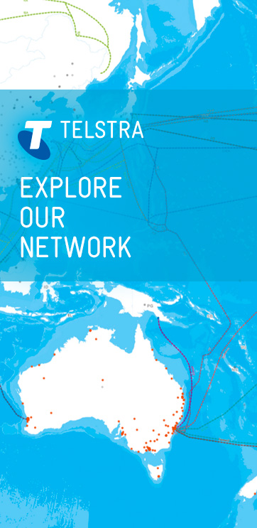 The joint partnership formed recently by Telstra and the Tasmanian Government provides free public Wi-Fi to the masses in popular and frequently visited sites in Tasmania. - Telstra ad