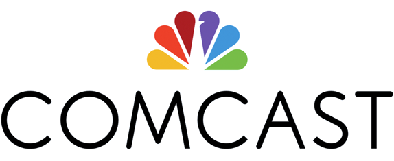 Comcast, the first American cable operator company, was chosen to deploy free public Wi-Fi during Pope Francis' visit to downtown Philadelphia. - Comcast logo