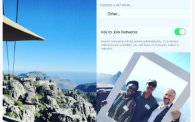 Free Wi-Fi lounge on top of Cape Town's iconic mountain