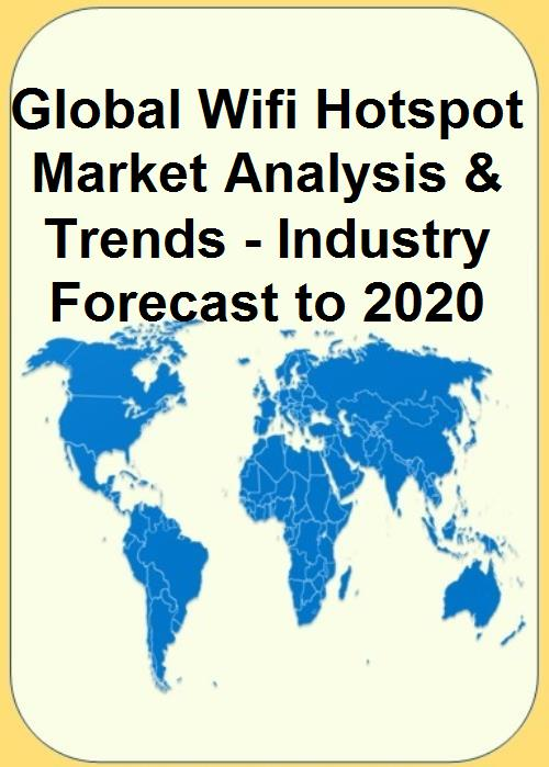 According to a report by ResearchAndMarkets, it is anticipated that within the next five years the CAGR of the Wi-Fi hotspot market will boost to approximately $3.3 billion. - Global Wi-Fi hotspot market report