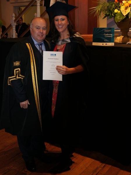 joanna graduated