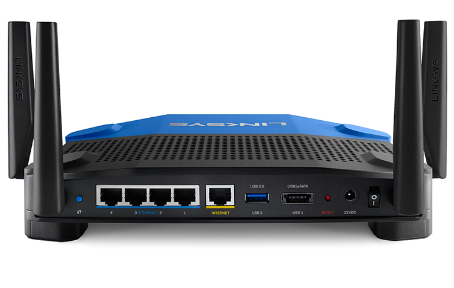 Linksys WRT1900AC back