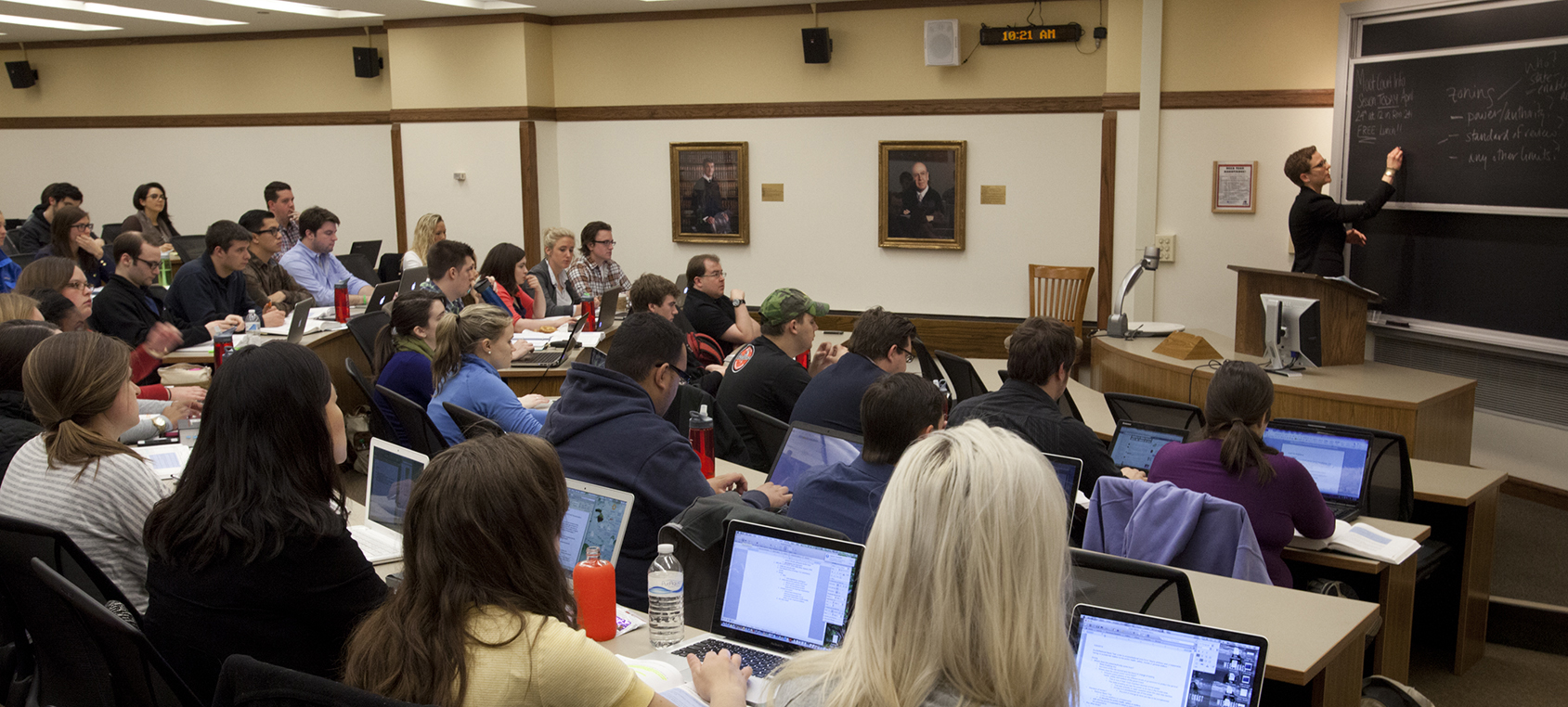 Whether students access the Wi-Fi network for social purposes or academic purposes, a stable Wi-Fi connection at educational institutions is a service that most students rely on. - DePaul University - College of Law