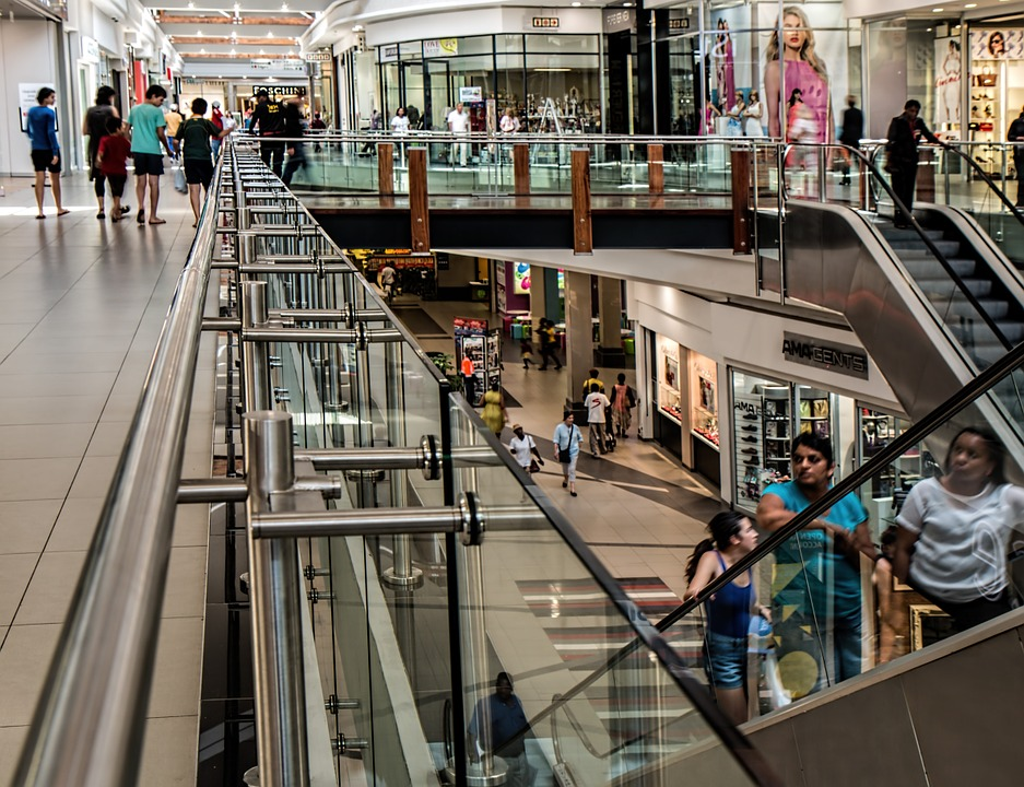 As a result of the rapid growth of Wi-Fi in all business sectors, the demand for public Wi-Fi hotspots is steadily being embraced by retailers. - shopping mall