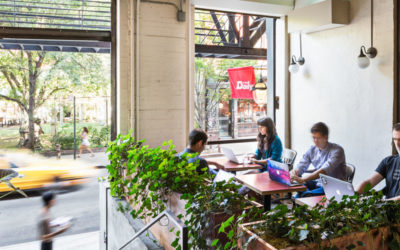 Spacious turns restaurants into co-working spaces with Wi-Fi network