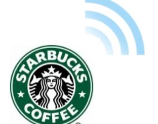Starbucks Wi-Fi, powered by Google!