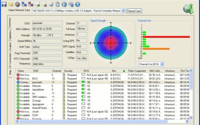 Wi-Fi Monitoring Software – WirelessMon