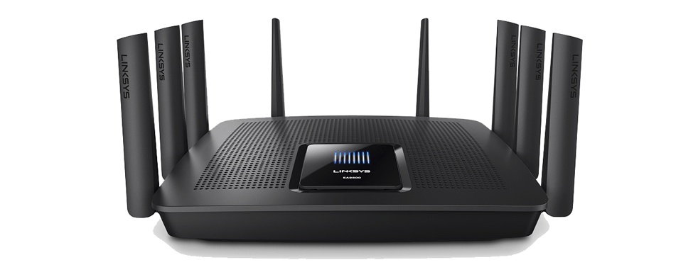 Max-stream AC5400 is a tri-band home office and entertainment Wi-Fi router providing a fast and secure internet connection for users. Linksy's EA9500 Max-stream™ AC5400 Wi-Fi router