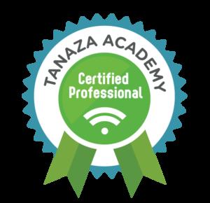 Tanaza Certified Professional Logo
