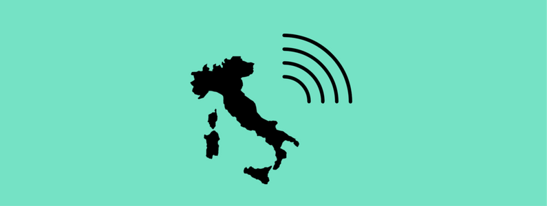 28 mila hotspot Wi-Fi gratis in Italia nel 2017