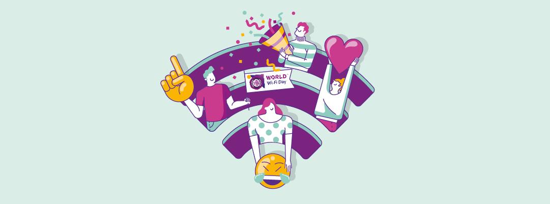 Emoji negli SSID per la giornata mondiale del Wi-Fi