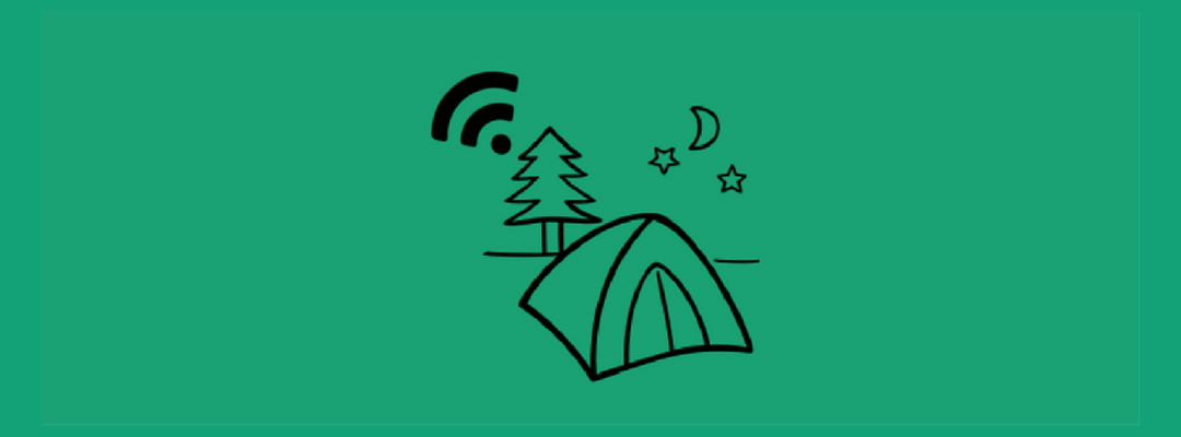 How to deploy an outside Wi-Fi network for camping