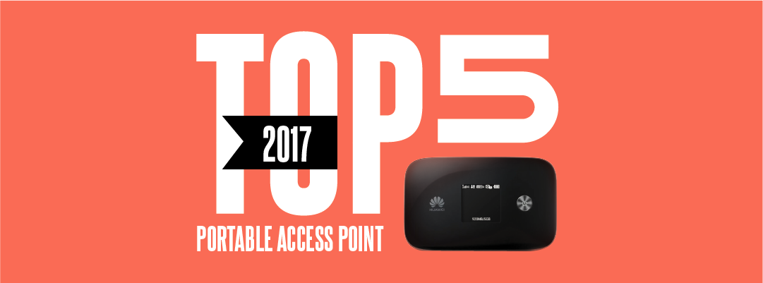 Top 5 mobile hotspots for 2017