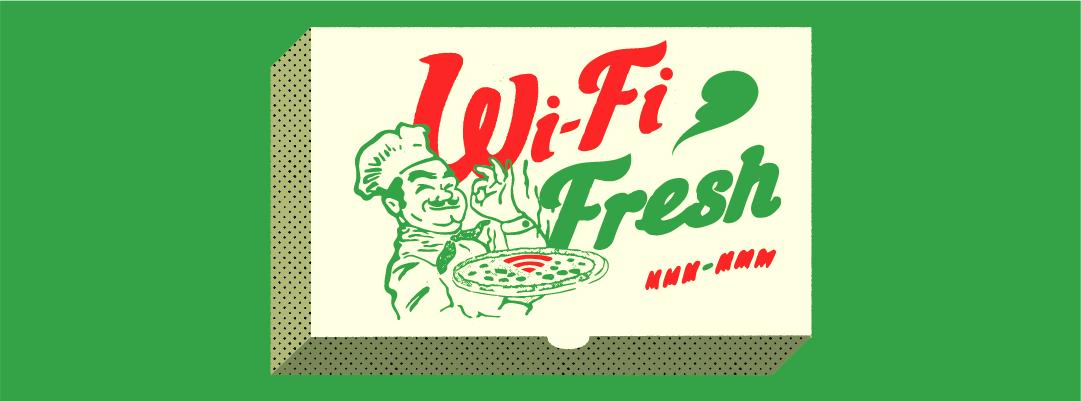restaurant's WiFi network