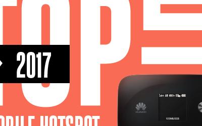 Os melhores hotspots móveis de 2017