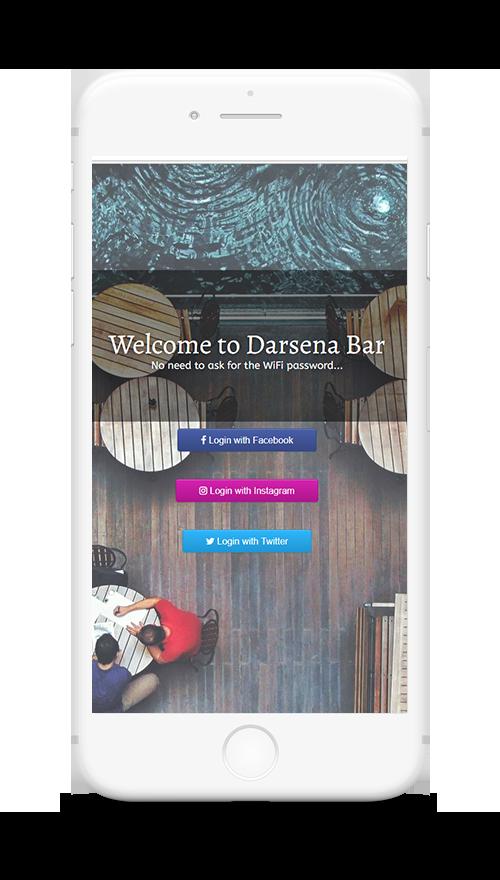 darsena bar social login