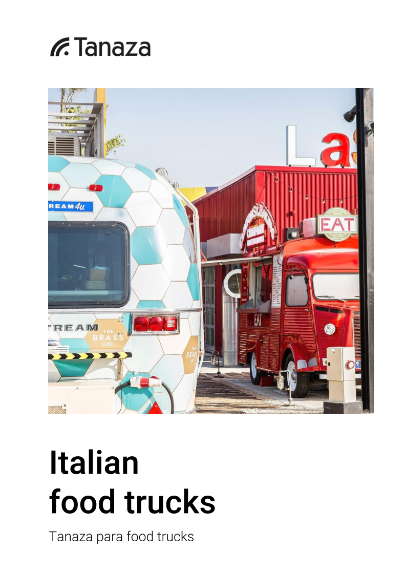 Italian Food Truck - Tanaza para food trucks