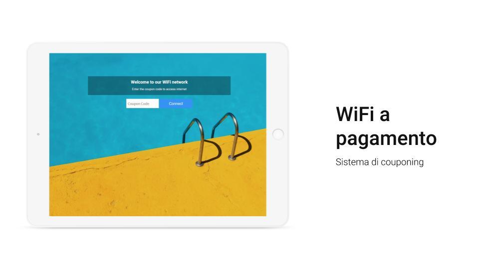 sistema di couponing wifi