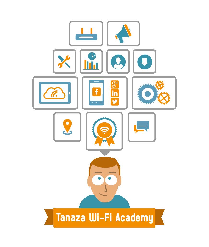 Programa de formación de Tanaza para profesionales en el sector Wi-Fi | La academia Wi-Fi de Tanaza
