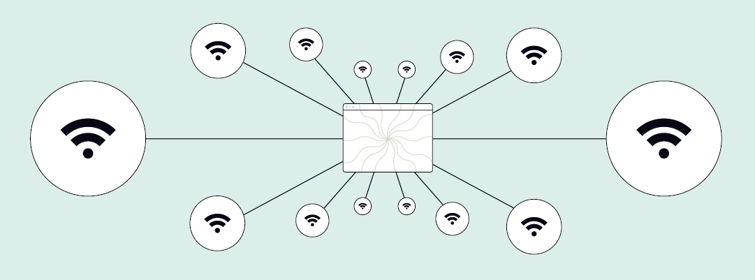 How many wireless devices can you connect to one WiFi router