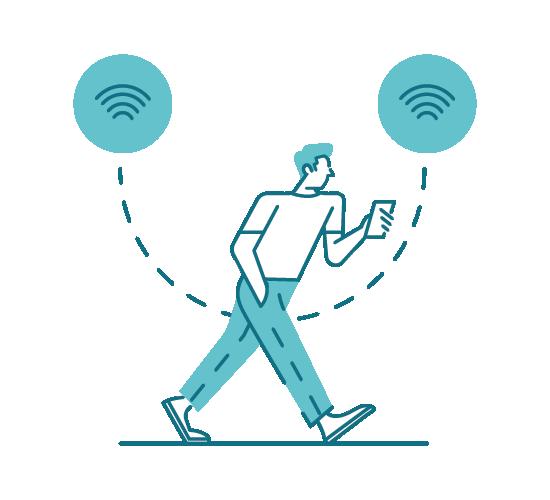 facile accesso alla rete wifi