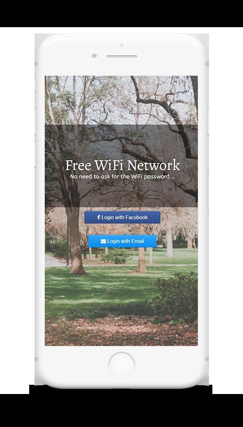 hotspot WiFi pubblico