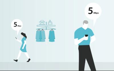Por que é que o controlo de banda larga é importante quando tem WiFi na sua loja