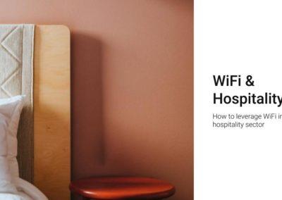 WiFi for hospitality