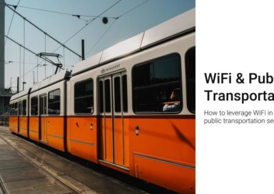 WiFi for public transportation
