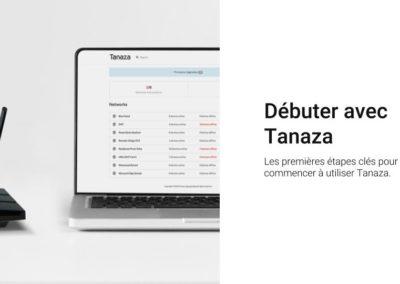 Débuter avec Tanaza