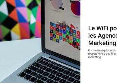 Le WiFi pour les agences marketing