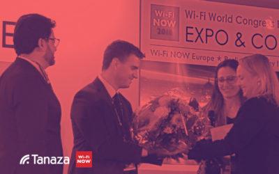 Tanaza gana premios Wi-Fi NOW como Best WiFi Startup y Best Enterprise WiFi Solution